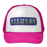 Words Optical and Illusion in one Illustration Trucker Hat