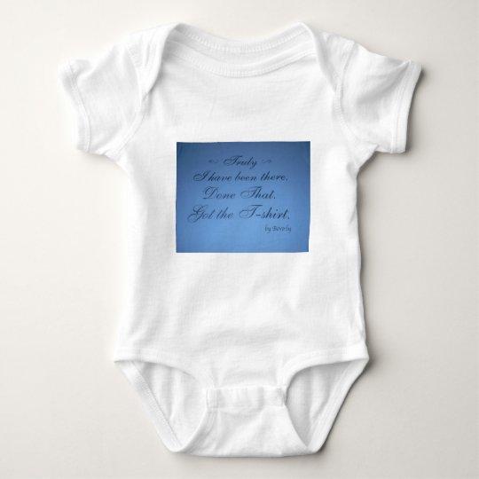 Words That Inspire Baby Bodysuit