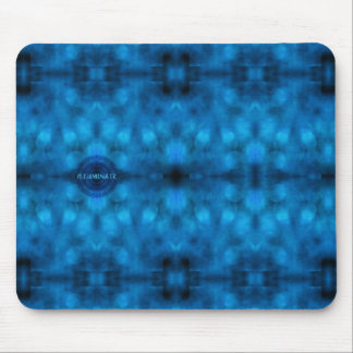 "Words to Live By: ""ILLUMINATE"" Affirmation Art Mouse Pad"
