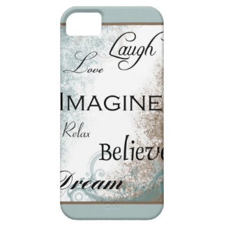Words to Live By iPhone 5 Case