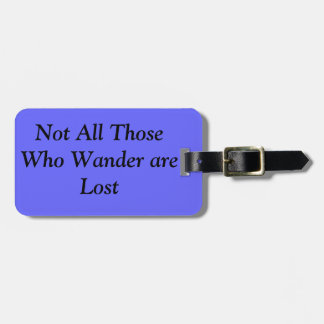 Words to live By Luggage Tag