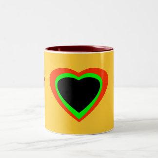 Words To Live By Two-Tone Coffee Mug