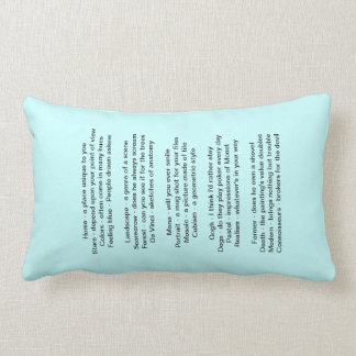 Words to Paint 1000 Pictures Pillow