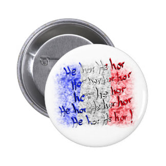 words to the french national anthem pinback button