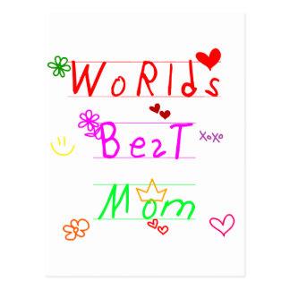 wordsbestmom postcard
