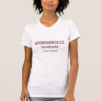 Wordskills Graduate Commemorative Shirt
