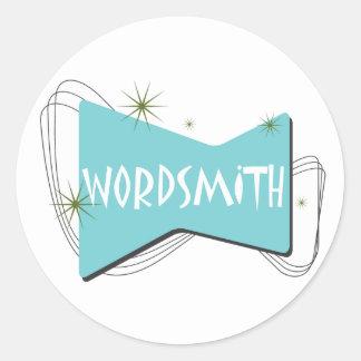 Wordsmith Classic Round Sticker