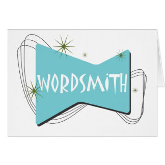 Wordsmith Greeting Card