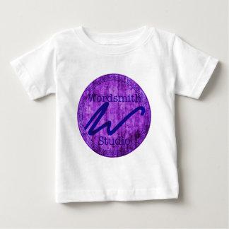 Wordsmith Studio Purlple/Navy Baby T-Shirt
