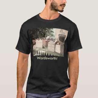 Wordsworth Grave, Westminster Abbey 1910 Vintage T-Shirt