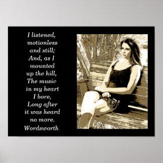 Wordsworth quote -art print