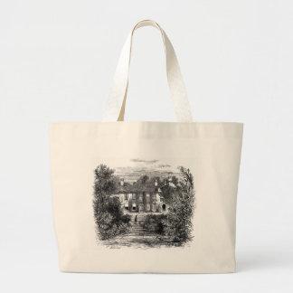 Wordsworth's House, Rydal Mount Large Tote Bag