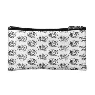 Wordy Woman Cosmetic Bag