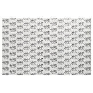 Wordy Woman Fabric