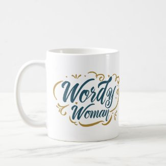 Wordy Woman Mug