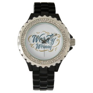 Wordy Woman Watch