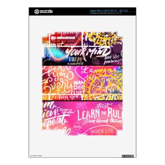 Wordy Word Words iPad 3 Skins