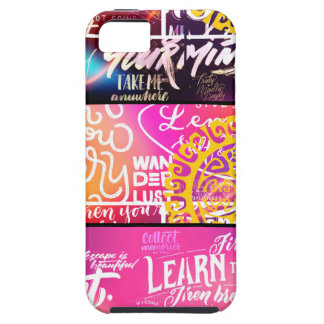 Wordy Word Words iPhone SE/5/5s Case