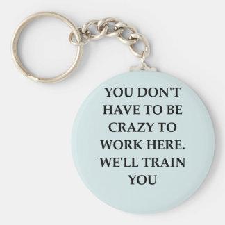 WORK2.png Basic Round Button Keychain
