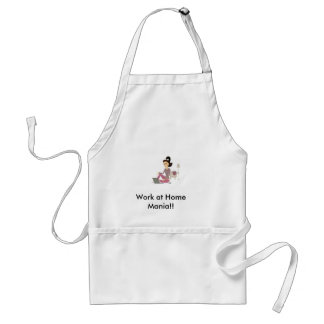 Work at Home Mania T-Shirts & more Aprons
