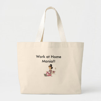 Work at Home Mania T-Shirts more Canvas Bags