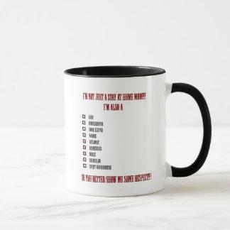Work At Home Mom Saying Coffee Mug