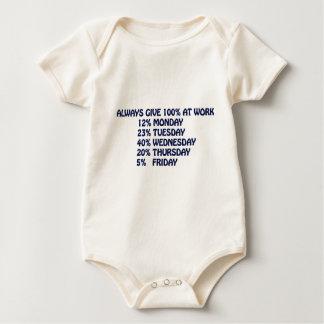 WORK BABY BODYSUIT