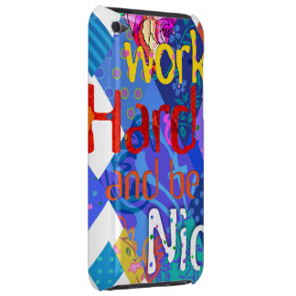 'Work&Be' Blu iPod Touch iPod Touch Cover