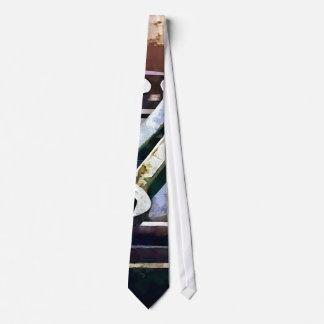 Work Bench in Machine Shop Neck Tie