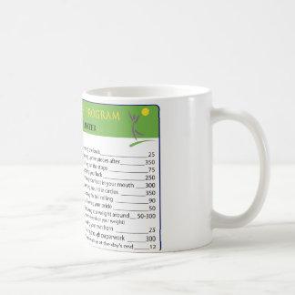 Work Calories Coffee Mug