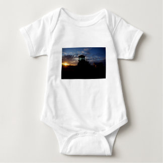 Work Day is Done on the Farm Baby Bodysuit