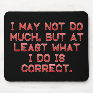 Work Ethic Mouse Pad