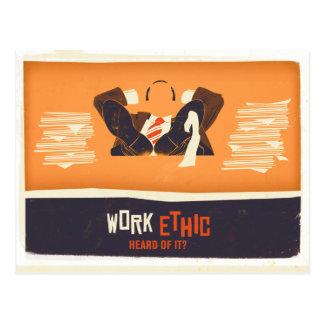 Work Ethic Postcards