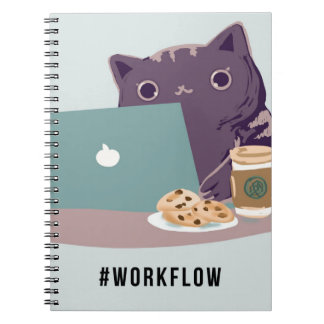 Work Flow Basic Cat Note Book