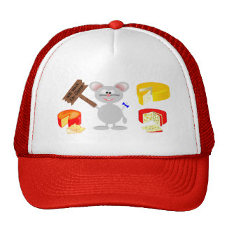 Work For Cheese Trucker Hat