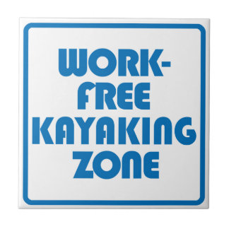 Work Free Kayaking Zone Tile