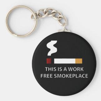 Work Free Smokeplace Keychain