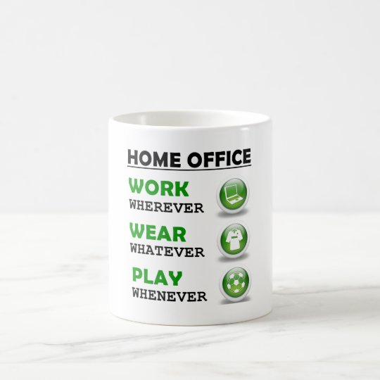 Work From Home Office Funny Quote Coffee Mug