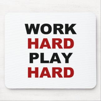 Work Hard alt.png Mouse Pad