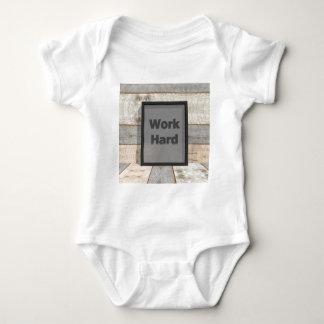 Work hard baby bodysuit