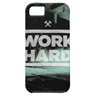 Work Hard iPhone 5 Cases