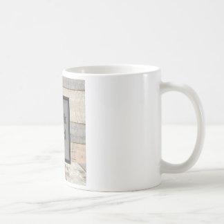Work hard coffee mug