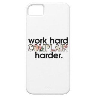 work hard complain harder iPhone SE/5/5s case