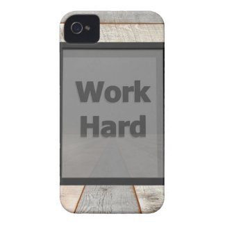 Work hard iPhone 4 cover