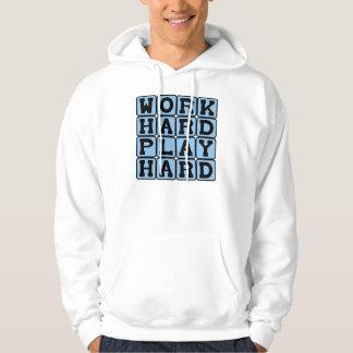 Work Hard Play Hard, Duality of Life Sweatshirt
