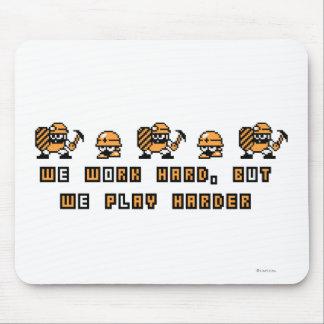 Work Hard, Play Hard Mouse Pad