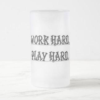 Work Hard, Play Hard Mug