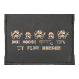 Work Hard, Play Hard Tyvek® Card Case Wallet