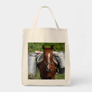 Work horse tote bag