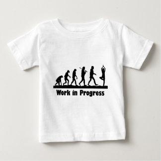 Work in Progress (Yoga) Baby T-Shirt